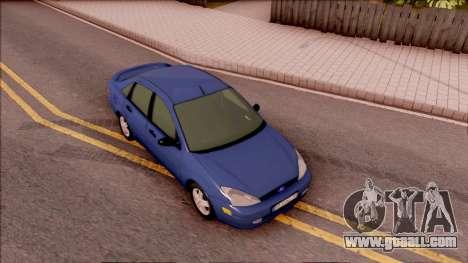 Ford Focus Sedan 2000 for GTA San Andreas right view