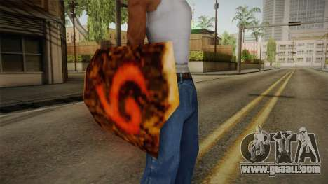 Hyrule Warriors - Deku Shield for GTA San Andreas third screenshot