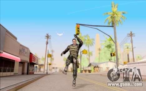 Degtyarev in body armor from S. T. A. L. K. E. R for GTA San Andreas sixth screenshot