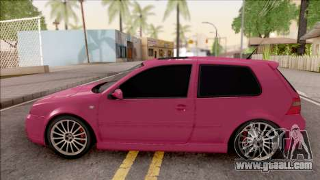 Volkswagen Golf R32 for GTA San Andreas left view