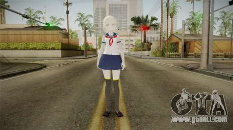 Yandere Simulator - Kita Kukita for GTA San Andreas second screenshot