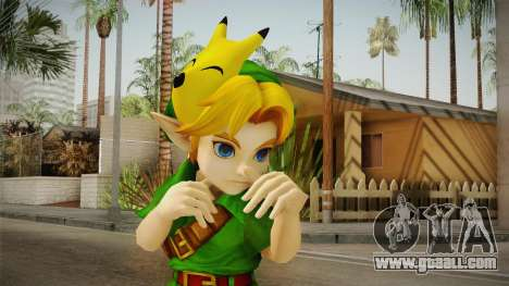 Hyrule Warriors - Young Link Skin for GTA San Andreas