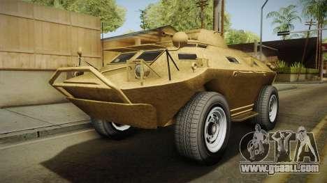 GTA 5 HVY APC for GTA San Andreas