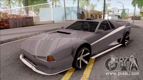 BlueRay Cheetah VX for GTA San Andreas