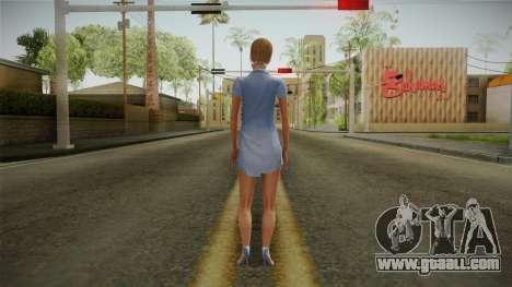 Sandra Skin for GTA San Andreas third screenshot