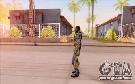 Vano of S. T. A. L. K. E. R. in overalls Liberty for GTA San Andreas forth screenshot