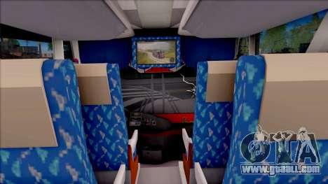 New Khan Bus G for GTA San Andreas inner view