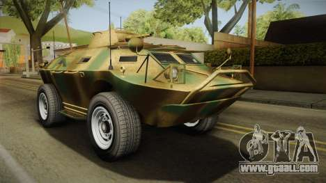 GTA 5 HVY APC IVF for GTA San Andreas