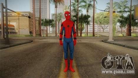 Spiderman Homecoming Skin v1 for GTA San Andreas second screenshot