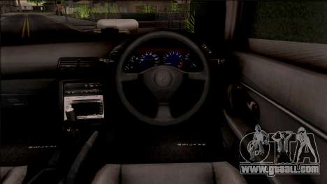 Nissan Skyline R32 Pickup for GTA San Andreas inner view