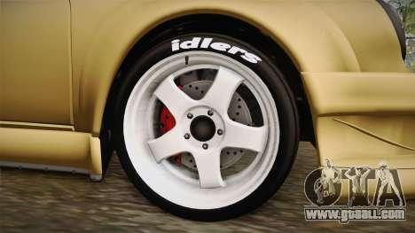 Porsche 911 Carrera RSR for GTA San Andreas back view