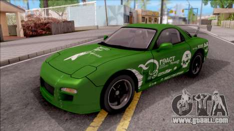 Mazda RX-7 NFS Undercover v2 for GTA San Andreas