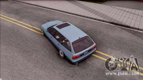 BMW M5 E34 Touring Slammed 1995 for GTA San Andreas back view