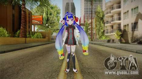 Otomachi Halloween Skin for GTA San Andreas second screenshot