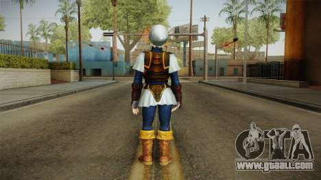 Hyrule Warriors - Fierce Deity Link Skin for GTA San Andreas third screenshot