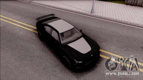GTA V Bravado Buffalo Edition for GTA San Andreas right view
