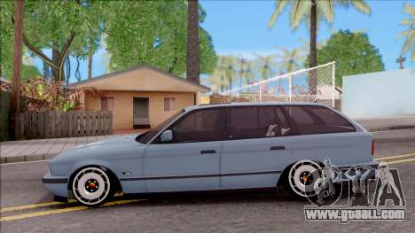 BMW M5 E34 Touring Slammed 1995 for GTA San Andreas left view