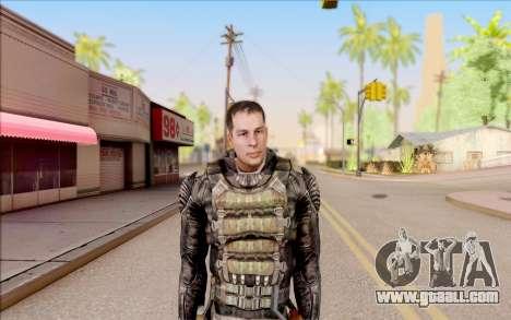 Degtyarev in body armor from S. T. A. L. K. E. R for GTA San Andreas
