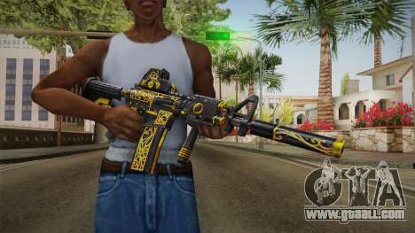SFPH Playpark - Antique M4A1 for GTA San Andreas third screenshot