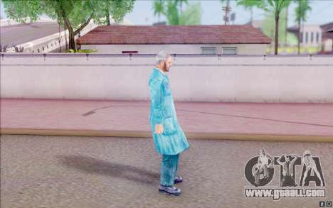 Lanky of S. T. A. L. K. E. R for GTA San Andreas third screenshot