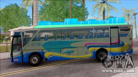 New Khan Bus G for GTA San Andreas left view