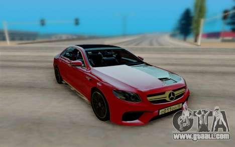 Mercedes-Benz E63 AMG W213 for GTA San Andreas