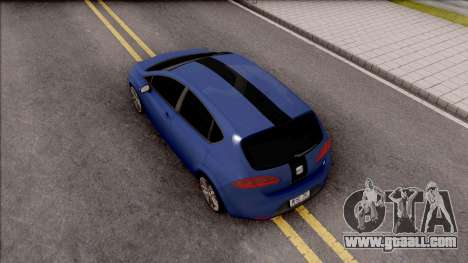 Seat Leon Cupra for GTA San Andreas back view