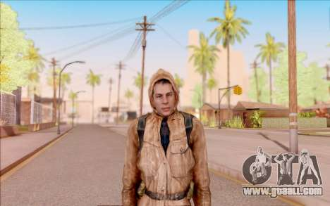 Degtyarev jacket rookie of S. T. A. L. K. E. R. for GTA San Andreas