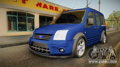 Ford Tourneo Connect 2012 for GTA San Andreas