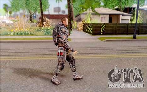 General Voronin of S. T. A. L. K. E. R for GTA San Andreas