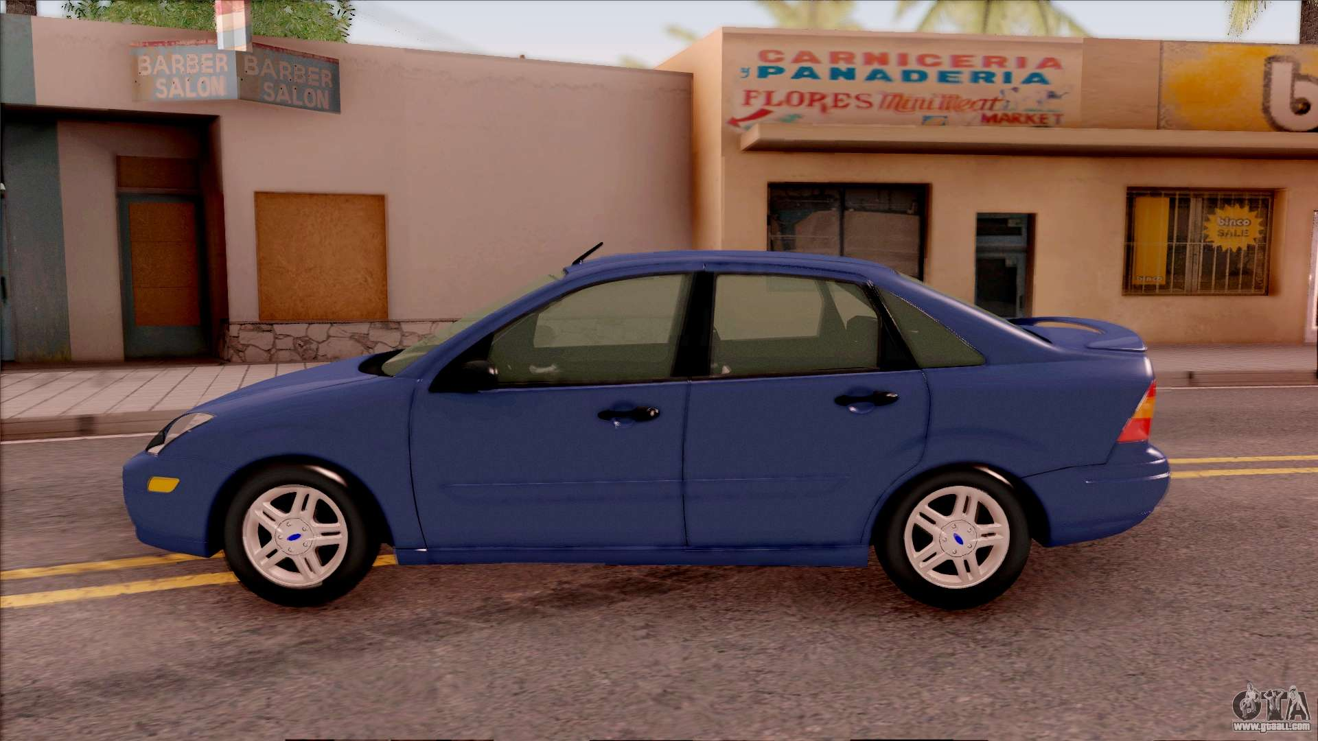 ford focus sedan 2000 for gta san andreas. Black Bedroom Furniture Sets. Home Design Ideas