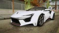 W Motors - Fenyr Supersports 2017 Dubai Plate for GTA San Andreas