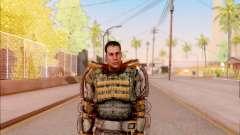 Degtyarev in the exoskeleton of Freedom of S. T.
