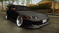 Honda Civic Estilo Stance 1994 for GTA San Andreas
