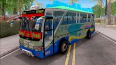 New Khan Bus G for GTA San Andreas