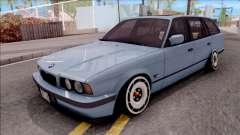 BMW M5 E34 Touring Slammed 1995 for GTA San Andreas