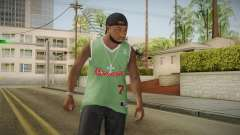 Grove Street Families Remastered Skin 3 for GTA San Andreas