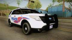 Ford Explorer 2013 Police for GTA San Andreas