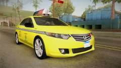 Honda Accord 2010 Taxi for GTA San Andreas
