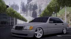 Mercedes-Benz W140 silver for GTA San Andreas