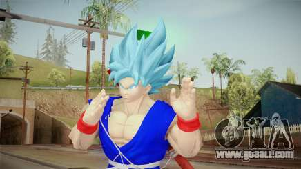 Goku Original DB Gi Blue v6 for GTA San Andreas