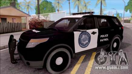 Ford Explorer Police San Andreas Patrol for GTA San Andreas