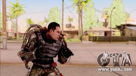 Degtyarev in the exoskeleton of S. T. A. L. K. E. R. for GTA San Andreas