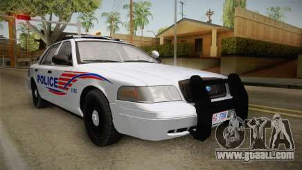 Ford Crown Victoria Police v1 for GTA San Andreas