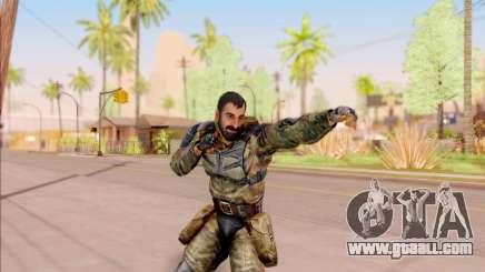 Vano of S. T. A. L. K. E. R. in overalls Liberty for GTA San Andreas