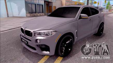 BMW X6M F86 2016 for GTA San Andreas