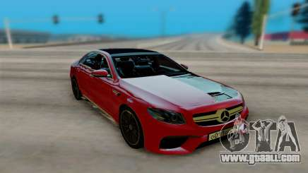 Mercedes-Benz E63 AMG W213 for GTA San Andreas