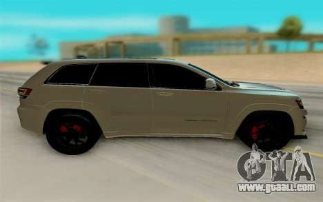 Jeep Grand Cherokee SRT for GTA San Andreas left view