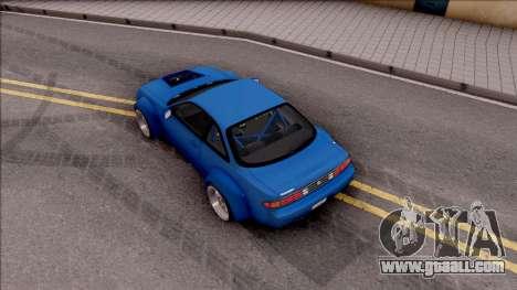 Nissan 200SX Rocket Bunny v2 for GTA San Andreas back view