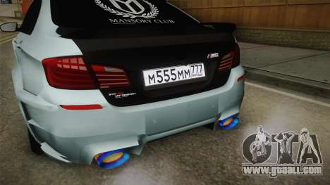 BMW M5 F10 Hamann for GTA San Andreas side view